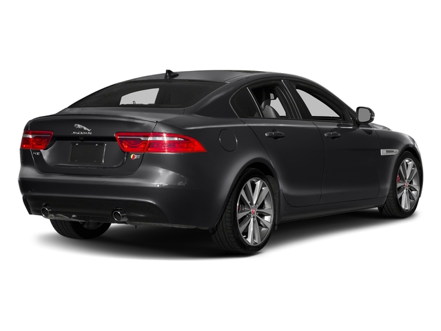 Narvik Black 2018 Jaguar XE Pictures XE S AWD photos rear view