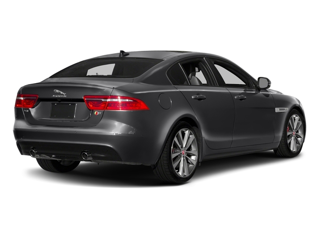 Carpathian Grey 2018 Jaguar XE Pictures XE S AWD photos rear view