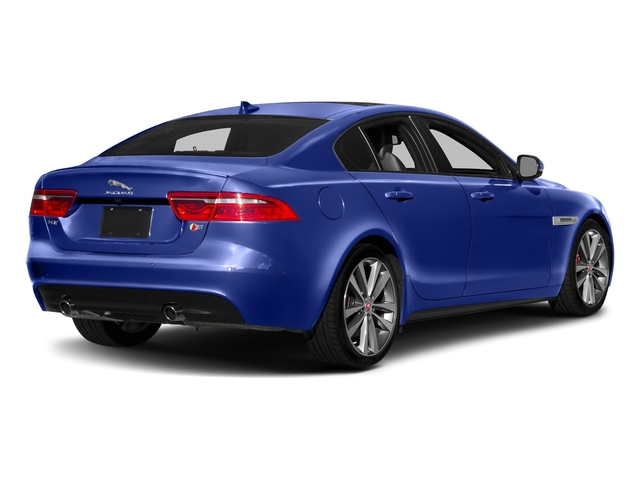 Caesium Blue 2018 Jaguar XE Pictures XE S AWD photos rear view