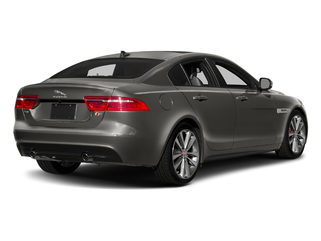 Silicon Silver 2018 Jaguar XE Pictures XE S AWD photos rear view