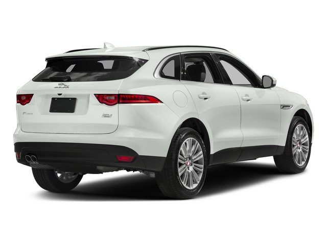 Fuji White 2018 Jaguar F-PACE Pictures F-PACE 20d Prestige AWD photos rear view