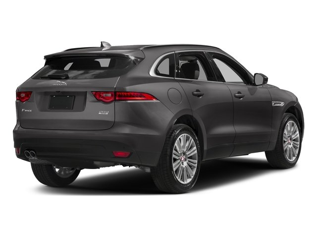 Corris Grey Metallic 2018 Jaguar F-PACE Pictures F-PACE 20d Prestige AWD photos rear view
