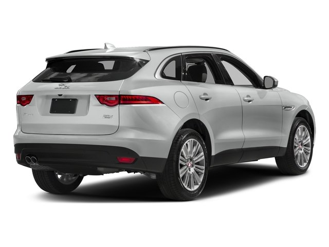 Indus Silver Metallic 2018 Jaguar F-PACE Pictures F-PACE 20d Prestige AWD photos rear view