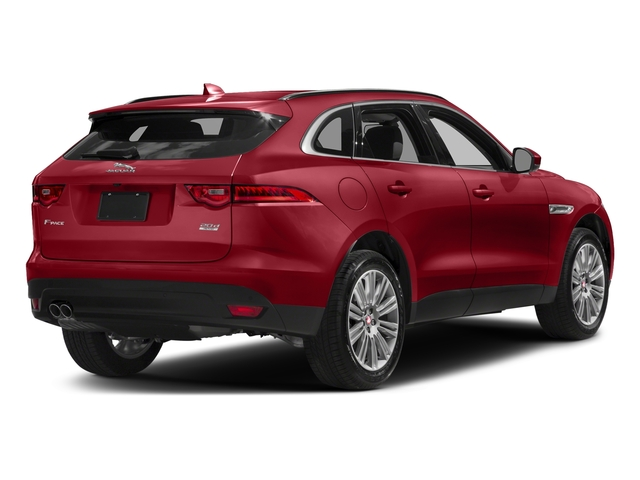 Firenze Red Metallic 2018 Jaguar F-PACE Pictures F-PACE 20d Prestige AWD photos rear view