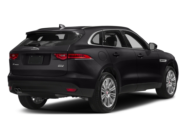 Santorini Black Metallic 2018 Jaguar F-PACE Pictures F-PACE 20d Prestige AWD photos rear view