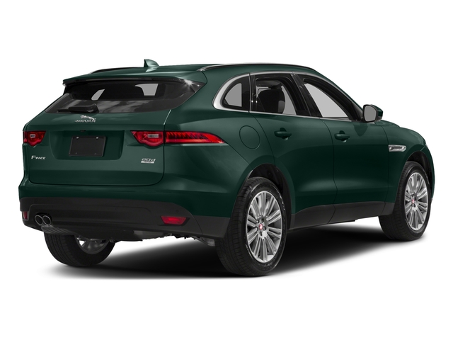 British Racing Green Metallic 2018 Jaguar F-PACE Pictures F-PACE 20d Prestige AWD photos rear view
