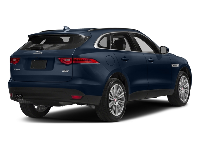 Loire Blue Metallic 2018 Jaguar F-PACE Pictures F-PACE 20d Prestige AWD photos rear view