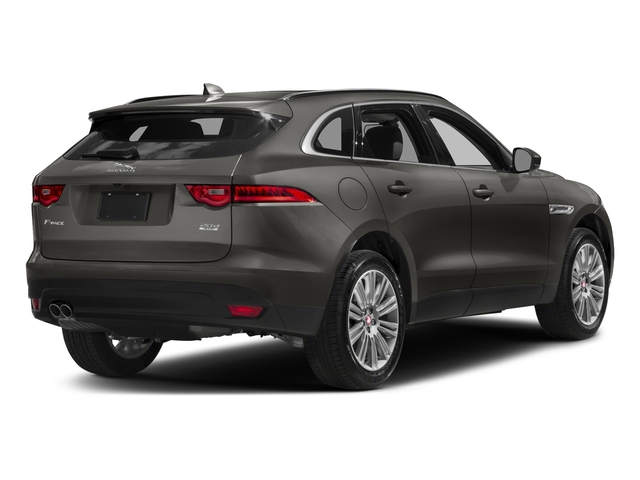 Silicon Silver 2018 Jaguar F-PACE Pictures F-PACE 20d Prestige AWD photos rear view