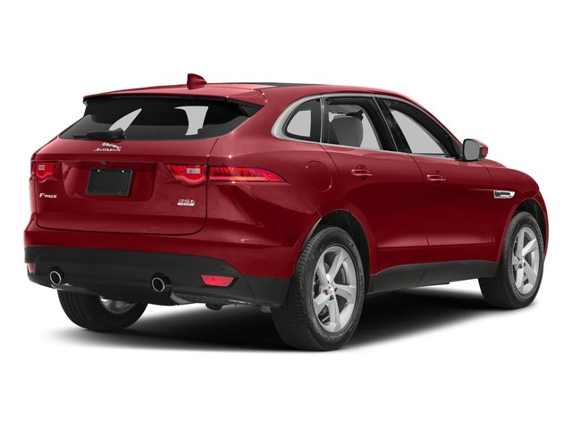 Firenze Red Metallic 2018 Jaguar F-PACE Pictures F-PACE 35t Prestige AWD photos rear view