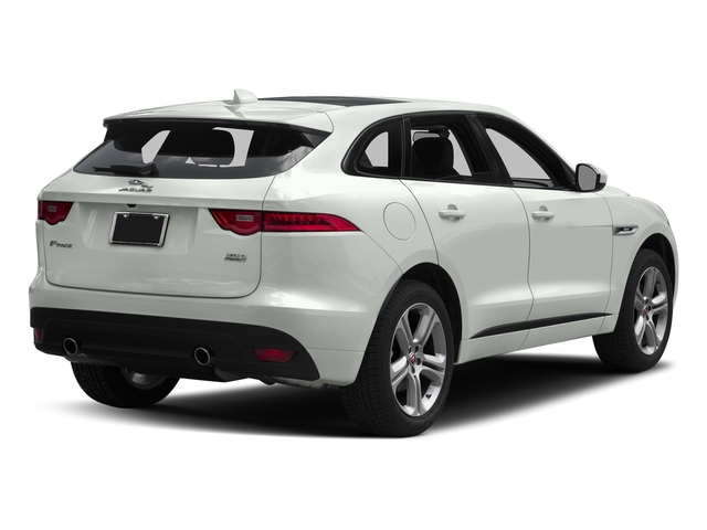 Fuji White 2018 Jaguar F-PACE Pictures F-PACE 35t R-Sport AWD photos rear view