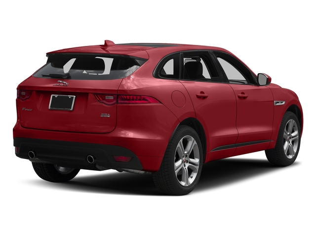 Firenze Red Metallic 2018 Jaguar F-PACE Pictures F-PACE 35t R-Sport AWD photos rear view