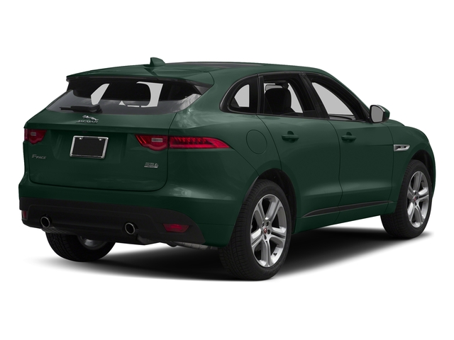 British Racing Green Metallic 2018 Jaguar F-PACE Pictures F-PACE 35t R-Sport AWD photos rear view