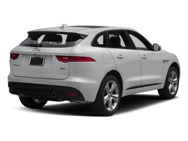 Yulong White Metallic 2018 Jaguar F-PACE Pictures F-PACE 35t R-Sport AWD photos rear view