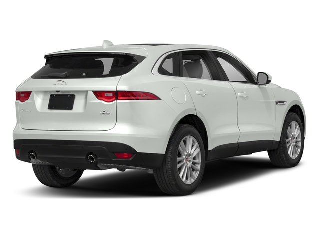 Fuji White 2018 Jaguar F-PACE Pictures F-PACE 25t Premium AWD photos rear view