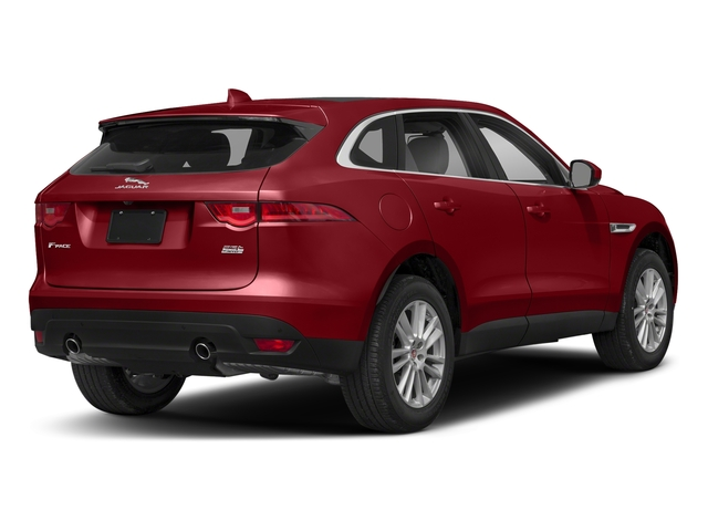 Firenze Red Metallic 2018 Jaguar F-PACE Pictures F-PACE 25t Prestige AWD photos rear view