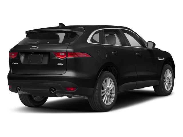 Santorini Black Metallic 2018 Jaguar F-PACE Pictures F-PACE 25t Premium AWD photos rear view