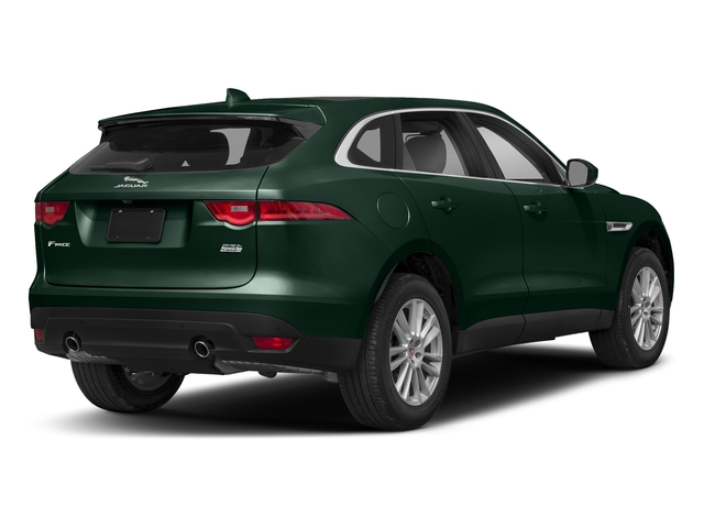 British Racing Green Metallic 2018 Jaguar F-PACE Pictures F-PACE 25t Premium AWD photos rear view
