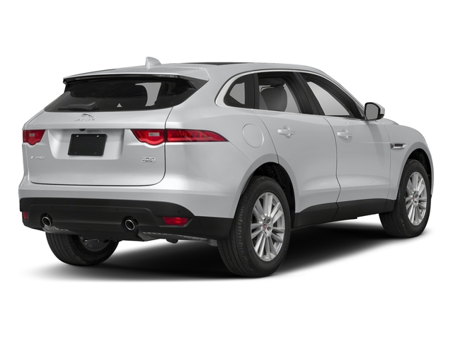 Yulong White Metallic 2018 Jaguar F-PACE Pictures F-PACE 25t Prestige AWD photos rear view