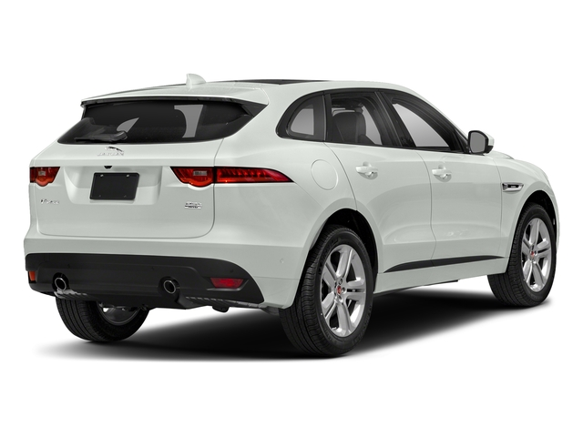 Fuji White 2018 Jaguar F-PACE Pictures F-PACE 25t R-Sport AWD photos rear view