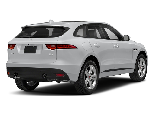 Yulong White Metallic 2018 Jaguar F-PACE Pictures F-PACE 25t R-Sport AWD photos rear view