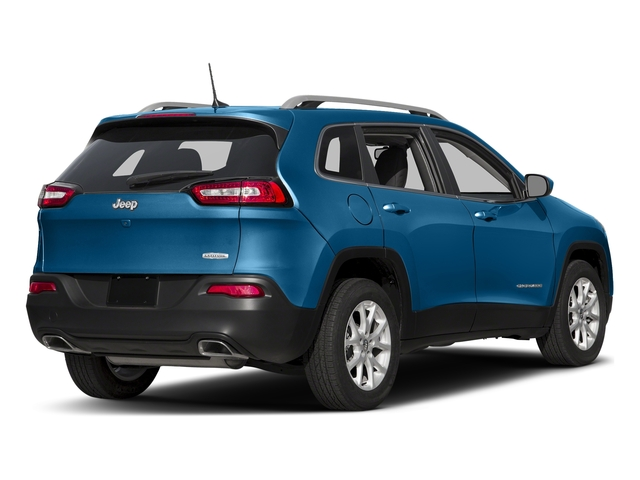 Hydro Blue Pearlcoat 2018 Jeep Cherokee Pictures Cherokee Utility 4D Latitude 4WD photos rear view