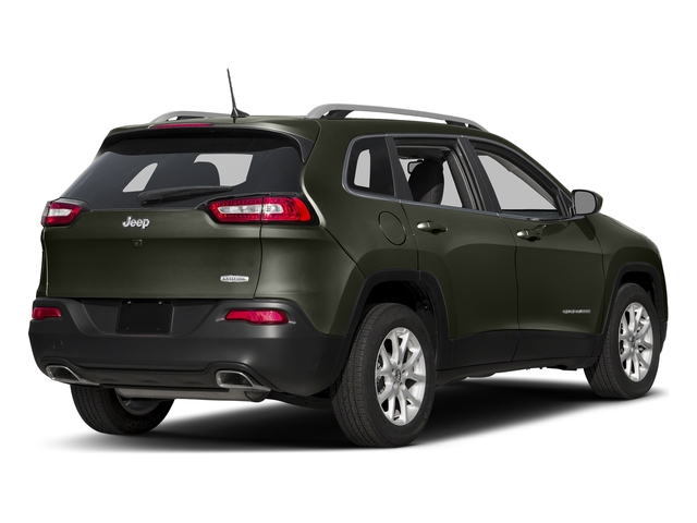 Olive Green Pearlcoat 2018 Jeep Cherokee Pictures Cherokee Utility 4D Latitude Plus 4WD photos rear view