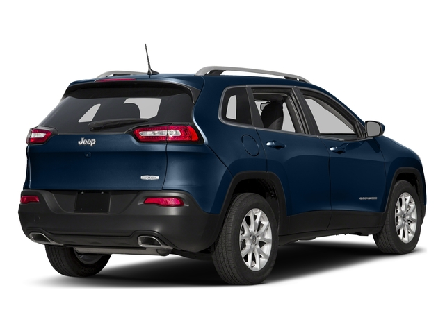 Patriot Blue Pearlcoat 2018 Jeep Cherokee Pictures Cherokee Utility 4D Latitude Plus 4WD photos rear view