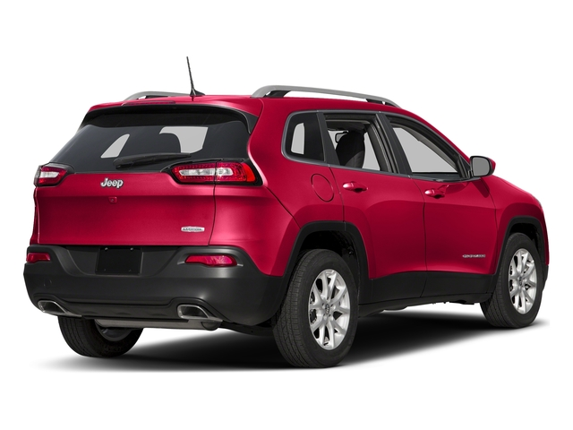 Firecracker Red Clearcoat 2018 Jeep Cherokee Pictures Cherokee Latitude FWD photos rear view