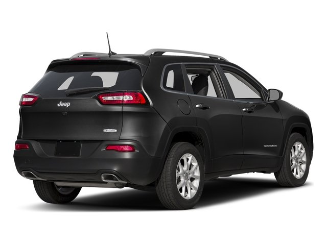 Diamond Black Crystal Pearlcoat 2018 Jeep Cherokee Pictures Cherokee Utility 4D Latitude Plus 4WD photos rear view