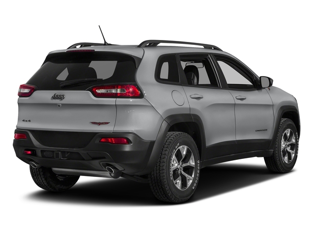 Billet Silver Metallic Clearcoat 2018 Jeep Cherokee Pictures Cherokee Utility 4D Trailhawk 4WD photos rear view