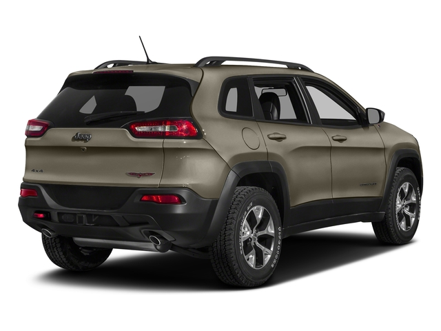 Light Brownstone Pearlcoat 2018 Jeep Cherokee Pictures Cherokee Utility 4D Trailhawk 4WD photos rear view