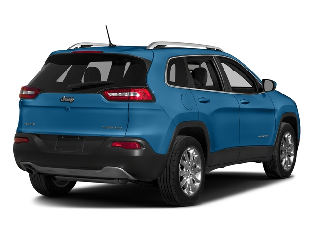 Hydro Blue Pearlcoat 2018 Jeep Cherokee Pictures Cherokee Utility 4D Limited 2WD photos rear view