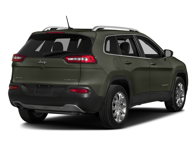 Olive Green Pearlcoat 2018 Jeep Cherokee Pictures Cherokee Utility 4D Limited 2WD photos rear view