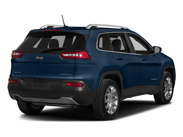 Patriot Blue Pearlcoat 2018 Jeep Cherokee Pictures Cherokee Utility 4D Limited 2WD photos rear view