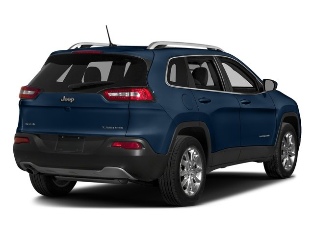 Patriot Blue Pearlcoat 2018 Jeep Cherokee Pictures Cherokee Limited FWD photos rear view