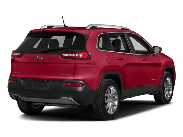 Firecracker Red Clearcoat 2018 Jeep Cherokee Pictures Cherokee Limited FWD photos rear view