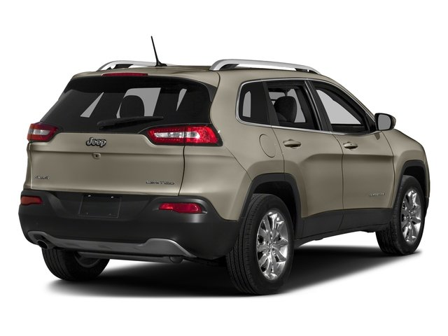 Light Brownstone Pearlcoat 2018 Jeep Cherokee Pictures Cherokee Limited FWD photos rear view