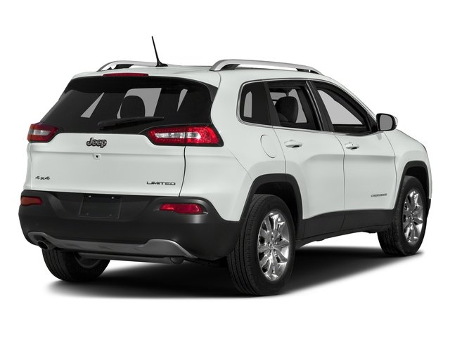 Bright White Clearcoat 2018 Jeep Cherokee Pictures Cherokee Limited FWD photos rear view