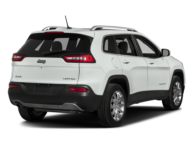 Bright White Clearcoat 2018 Jeep Cherokee Pictures Cherokee Utility 4D Limited 2WD photos rear view