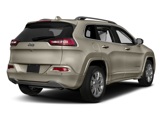 Light Brownstone Pearlcoat 2018 Jeep Cherokee Pictures Cherokee Utility 4D Overland 4WD photos rear view