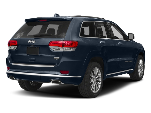 True Blue Pearlcoat 2018 Jeep Grand Cherokee Pictures Grand Cherokee Summit 4x2 photos rear view