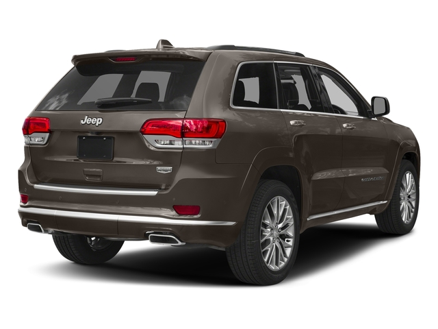 Walnut Brown Metallic Clearcoat 2018 Jeep Grand Cherokee Pictures Grand Cherokee Summit 4x2 photos rear view