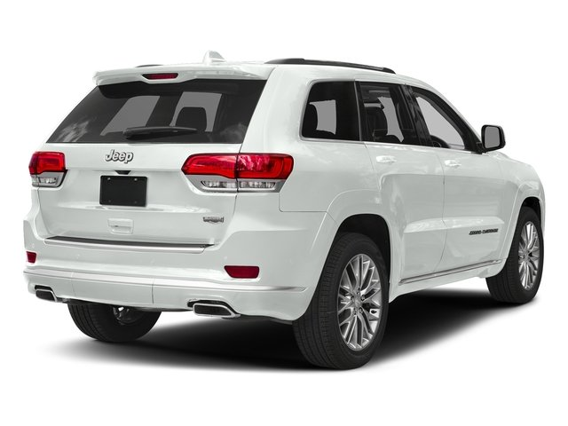 Bright White Clearcoat 2018 Jeep Grand Cherokee Pictures Grand Cherokee Summit 4x2 photos rear view