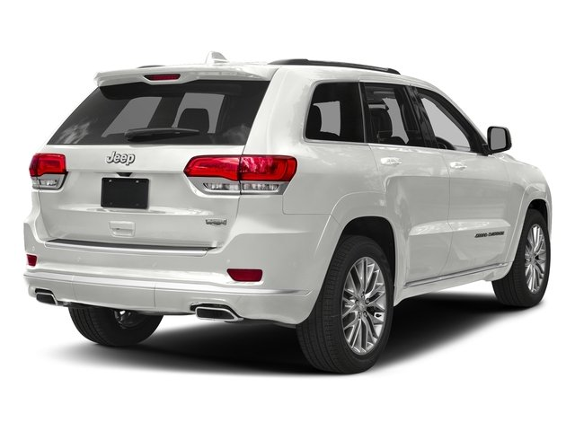 Ivory 3-Coat 2018 Jeep Grand Cherokee Pictures Grand Cherokee Summit 4x2 photos rear view
