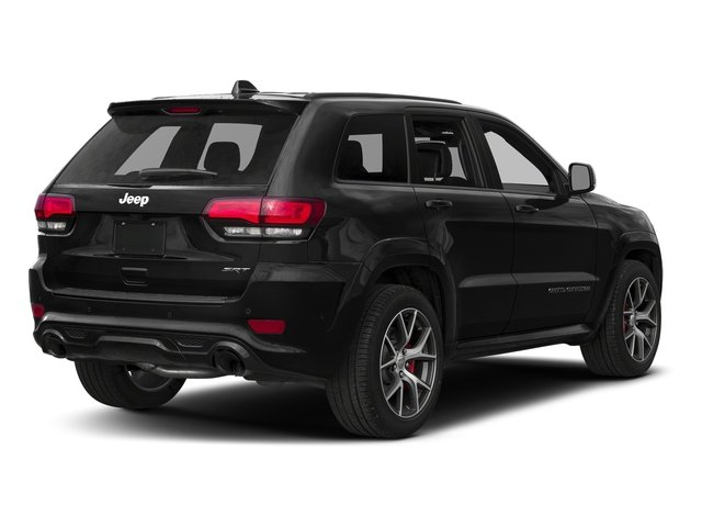Diamond Black Crystal Pearlcoat 2018 Jeep Grand Cherokee Pictures Grand Cherokee Utility 4D SRT-8 4WD photos rear view