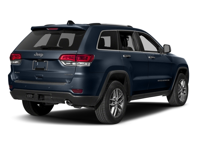True Blue Pearlcoat 2018 Jeep Grand Cherokee Pictures Grand Cherokee Limited 4x4 photos rear view