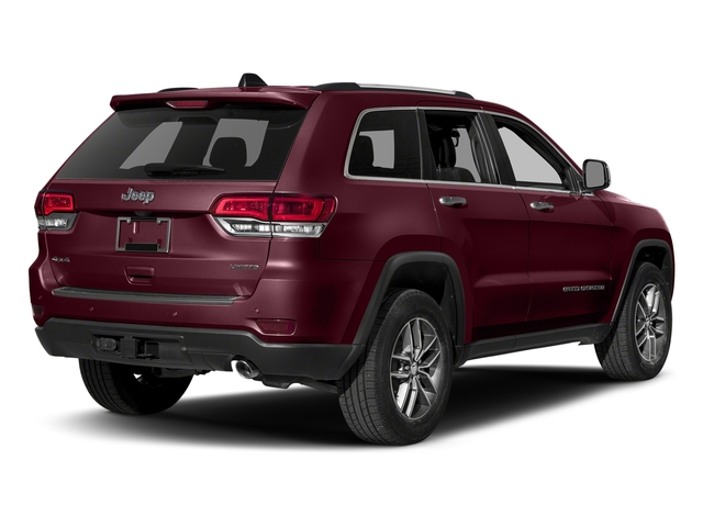 Velvet Red Pearlcoat 2018 Jeep Grand Cherokee Pictures Grand Cherokee Limited 4x4 photos rear view
