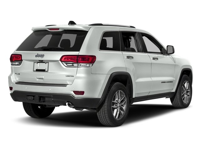 Bright White Clearcoat 2018 Jeep Grand Cherokee Pictures Grand Cherokee Sterling Edition 4x4 *Ltd Avail* photos rear view