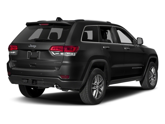 Diamond Black Crystal Pearlcoat 2018 Jeep Grand Cherokee Pictures Grand Cherokee Limited 4x4 photos rear view