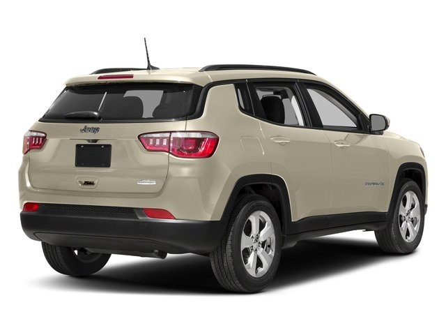 Pearl White Tri-Coat 2018 Jeep Compass Pictures Compass Limited 4x4 photos rear view